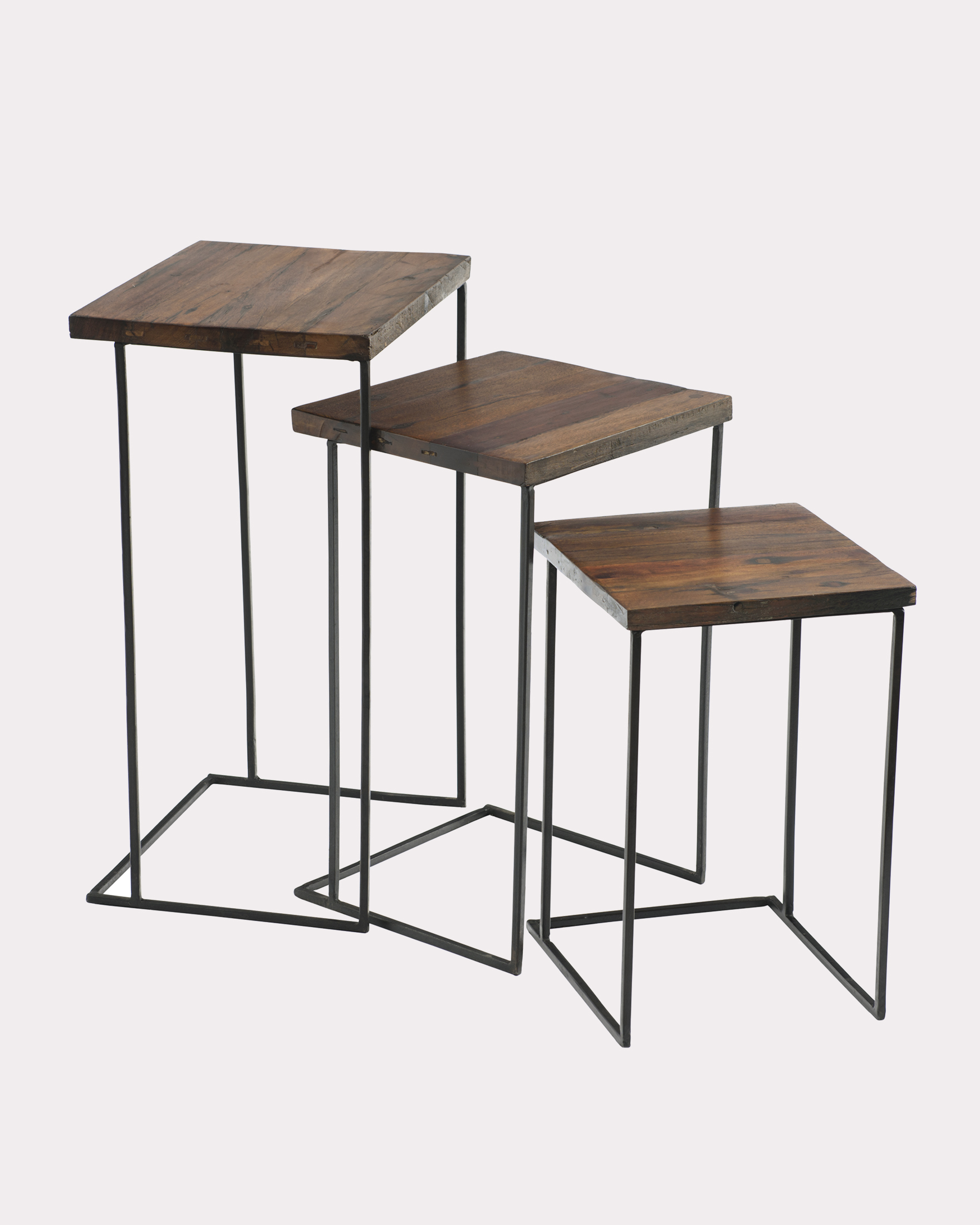 NESTING TABLES, SET OF 3