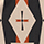 EAGLE SADDLE BLANKET, BLACK/TAN