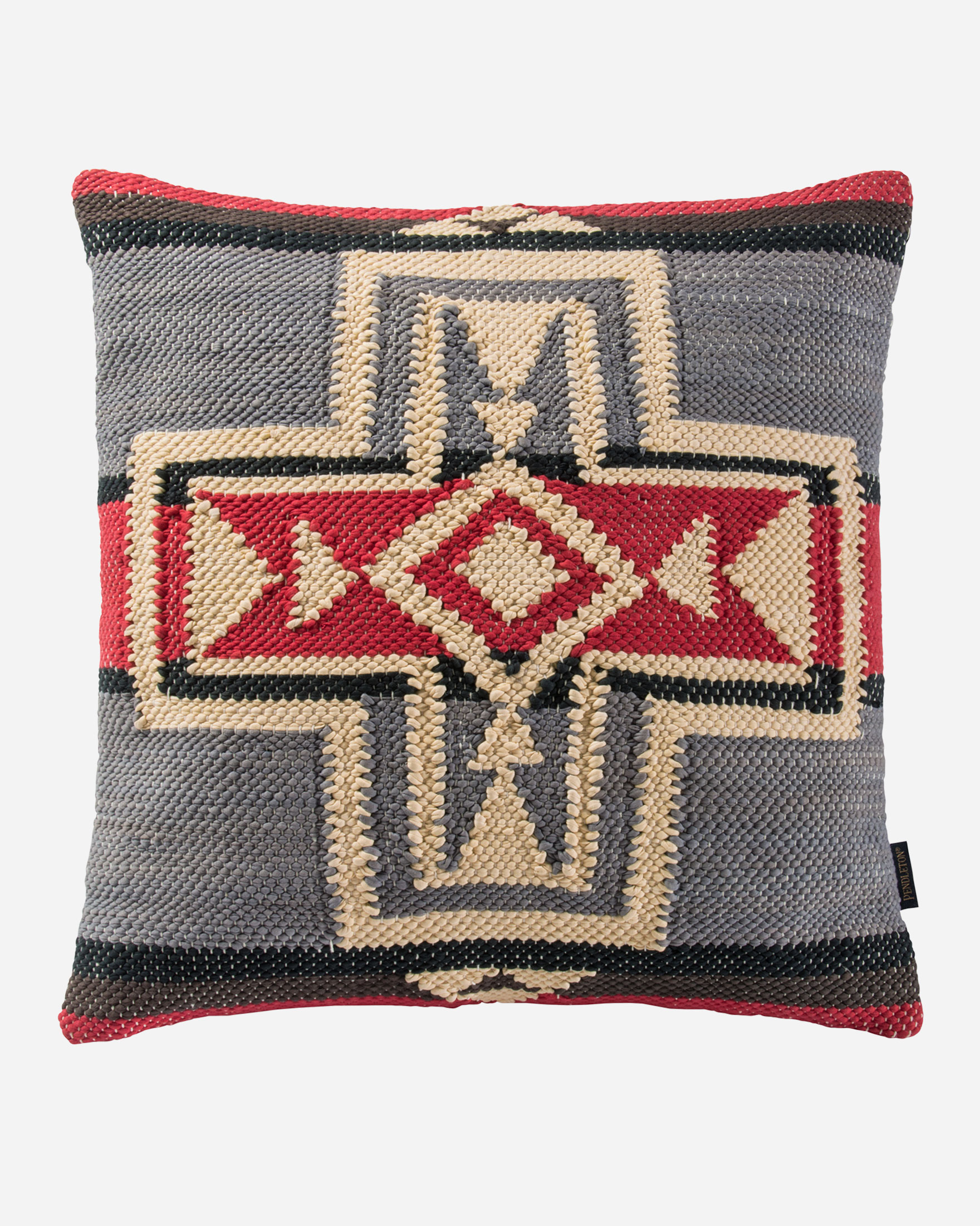 CROSSROADS WOVEN CHINDI PILLOW
