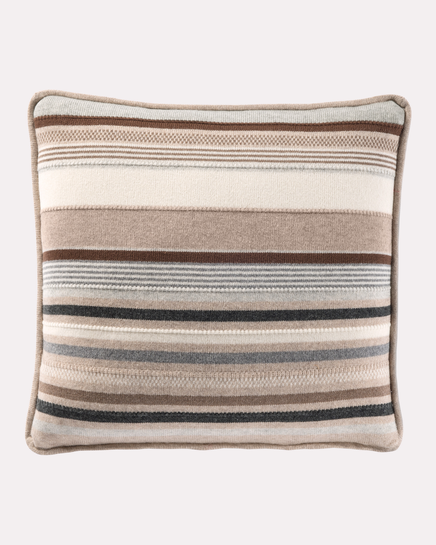 CHIMAYO KNIT PILLOW IN BEIGE MULTI