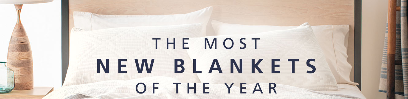 The most new blankets of the year