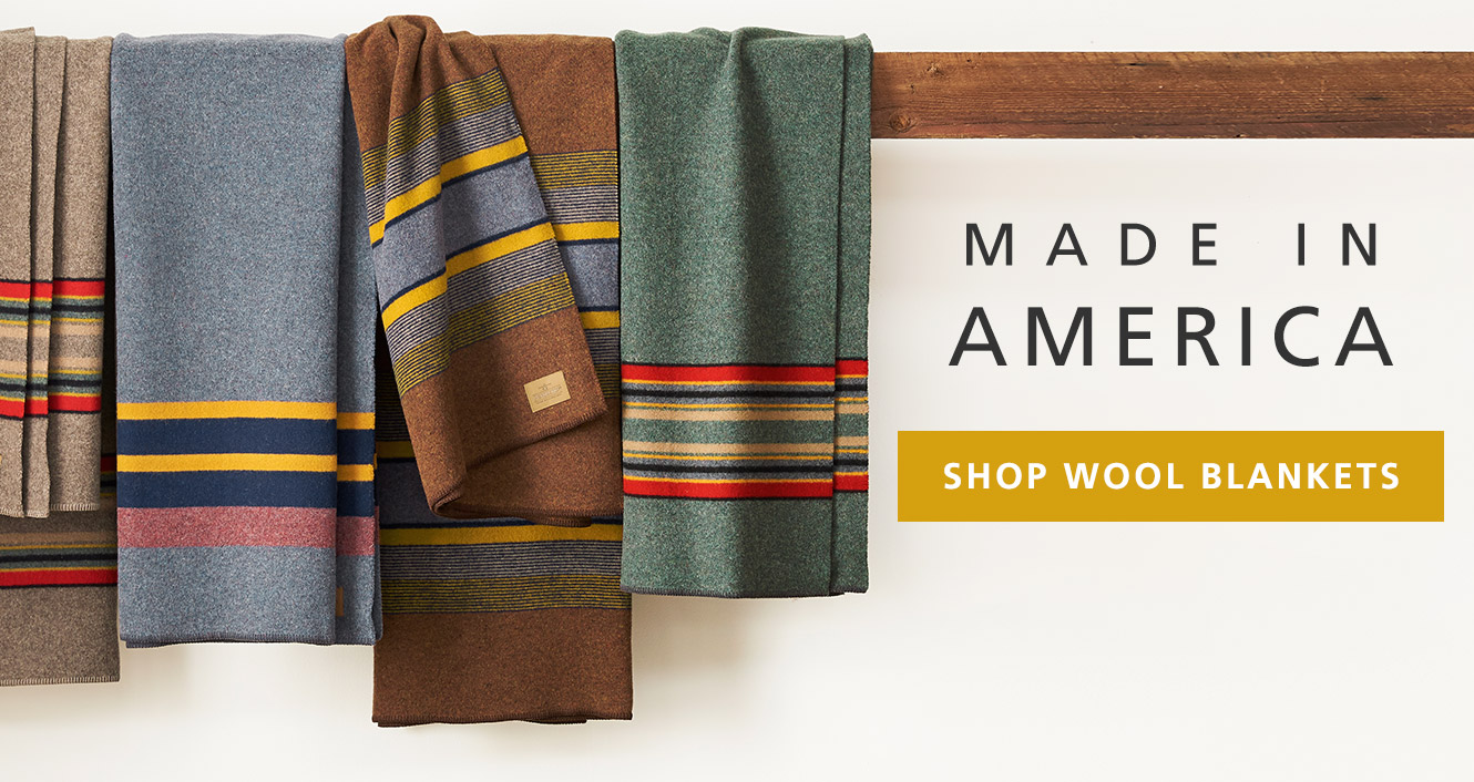 Shop Wool Blankets Made in America