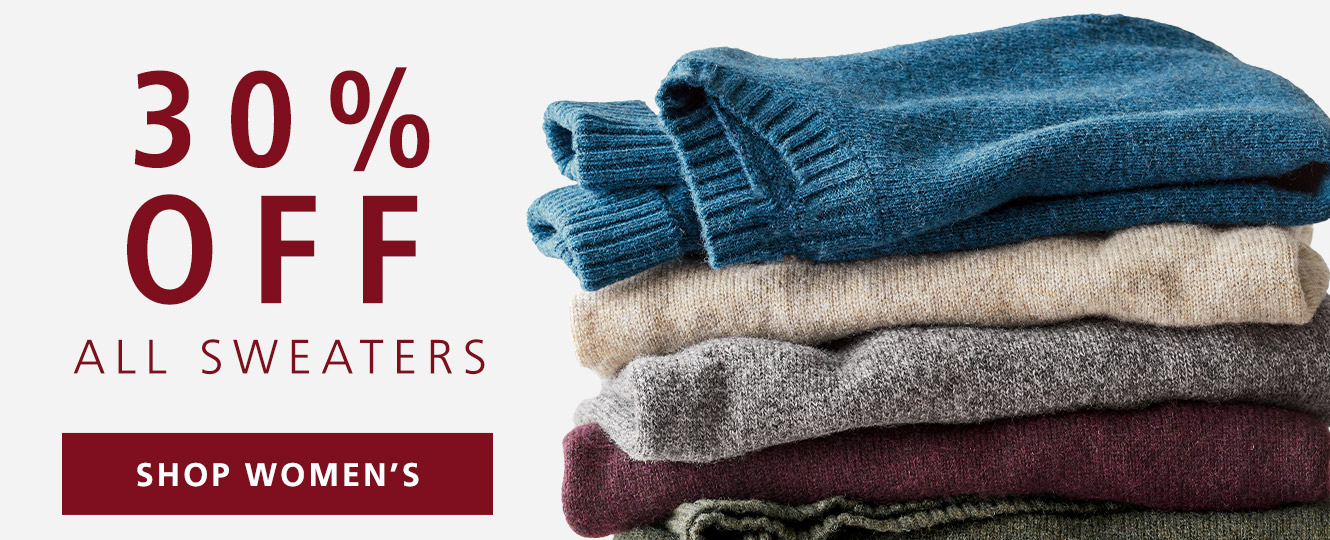 SHOP 30% OFF ALL WOMEN'S SWEATERS
